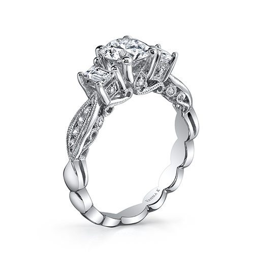 Vanna K 18RGL718DCZ Available at Mirage Fine Jewelers
