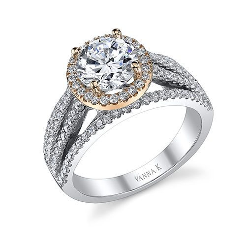 Vanna K 18AR98821DCZ Available at Mirage Fine Jewelers