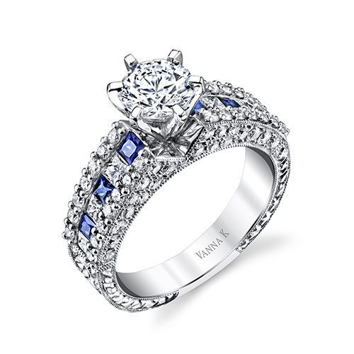VannaK 18M00020BSDCZ Available at Mirage Fine Jewelers