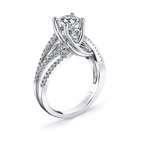 VannaK 18RGL01165DCZ Available at Mirage Fine Jewelers