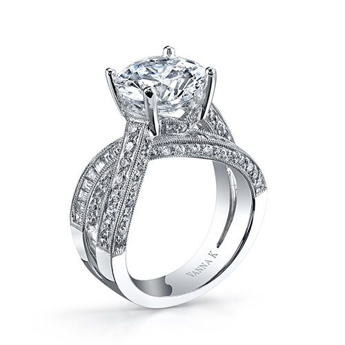 VannaK 18RO1980DCZ Available at Mirage Fine Jewelers