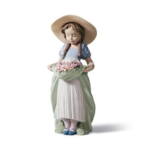 lladro 01006756 BOUNTIFUL BLOSSOMS Available at Mirage Fine Jewelers