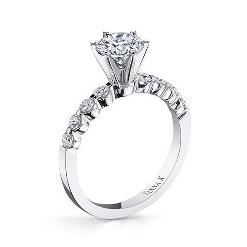 Vanna K 18MR4302DCZ Available at Mirage Fine Jewelers