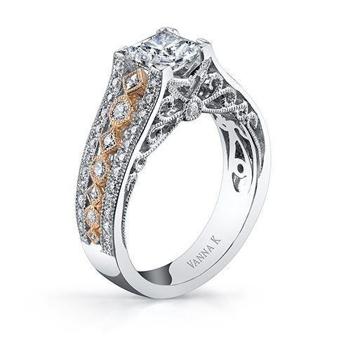 Vanna K 18RGL681PDCZ Available at Mirage Fine Jewelers