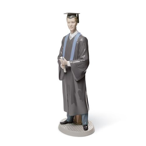 lladro 01008397 HIS COMMENCEMENT Available at Mirage Fine Jewelers
